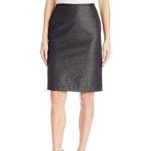 Calvin Klein Women's Jacquard Straight Skirt